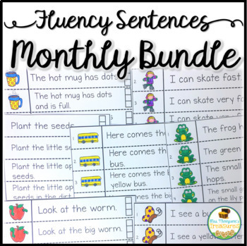 Fluency Strips Monthly Bundle