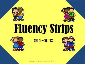 Fluency Strips Set 1 - 12