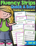 Fluency Strips™ Set 1 - Quick and Easy Practice and Assessment