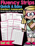 Fluency Strips™ Set 2 - Quick and Easy Practice and Assessment