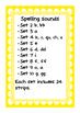 Fluency Strips Sound Waves Set 1