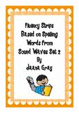Fluency Strips Sound Waves Set 2