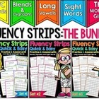 Fluency Strips™ (The BUNDLE) - Quick and Easy Practice and Assessment