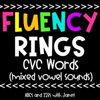 Fluency Rings {cvc words}