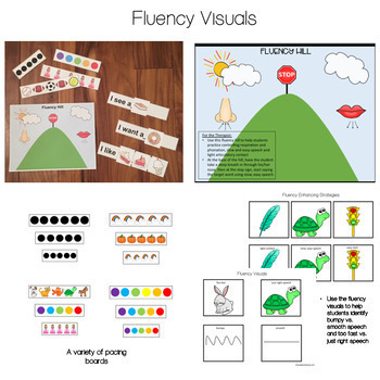 Fluency (Stuttering) BUNDLE! for Speech Therapy