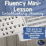 Speech Therapy Fluency (Stuttering) for Establishing Fluency