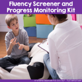 Fluency (Stuttering) Screener and Progress Monitoring Kit