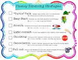 Fluency Stuttering Strategies Handout