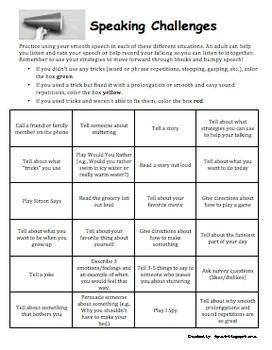 Fluency (Stuttering) Treatment Pack