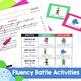Fluency posters, practice phrases, & data graphs