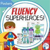 Superheroes Fluency Posters