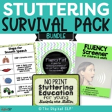 Fluency (Stuttering) Survival Pack BUNDLE
