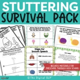 Fluency Survival Pack - Stuttering Materials for Preschool through High School