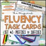Fluency Task Cards #2 Prefixes & Suffixes { Oral Fluency R