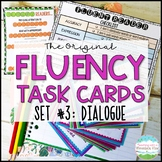 Fluency Task Cards #3 Dialogue { Oral Fluency Reading Prac