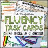 Fluency Task Cards #4 Expression & Punctuation { Oral Flue