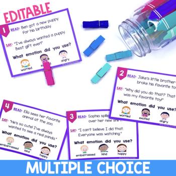 Fluency Task Cards for Intonation Practice
