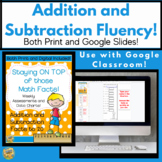 Fluency - Time Tests - Addition and Subtraction to 20!  TN Standard 1.OA.C.6