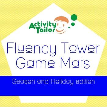 Fluency Tower Game Mats Holiday & Seasons