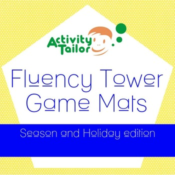 Fluency Tower Game Mats Holiday & Seasons