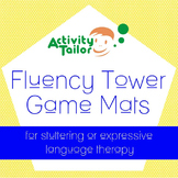 Stuttering or Expressive Language Therapy:  Fluency Tower