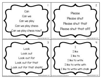 Fluency Trees- Beginning Digraphs Set