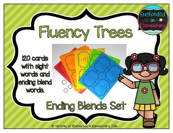 Fluency Trees- Ending Blends Set