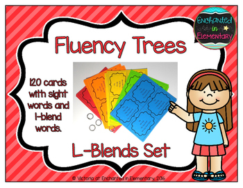 Fluency Trees- L-Blends Set