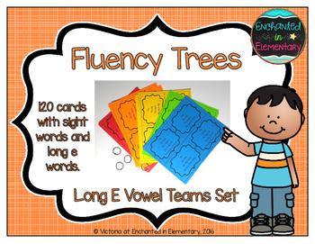 Fluency Trees- Long E Vowel Teams Set