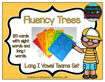 Fluency Trees- Long I Vowel Teams Set