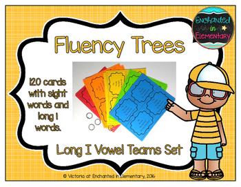 Fluency Trees- Long I Vowel Teams Set