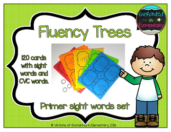 Fluency Trees- Primer Sight Word Set