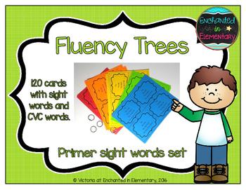 Fluency Trees- Primer Sight Word Set