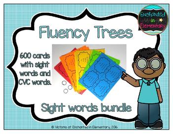 Fluency Trees- Sight Word Bundle