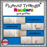 Reading Fluency Activity - Fluency Triangle Readers® for Sight Words {RTI}