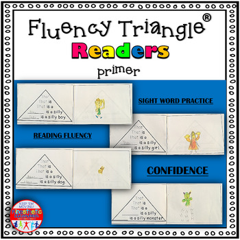 Reading Fluency Activity - Fluency Triangle Readers for Sight Words {RTI}