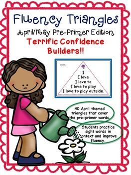 Reading Fluency Activity: Fluency Triangles® - April & May