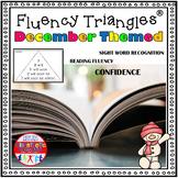 Reading Fluency Activity Fluency Triangles® December First Grade Sight Words RTI