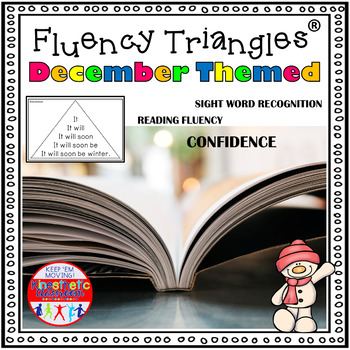 Reading Fluency Activity Fluency Triangles® December First Grade Sight Words RTI