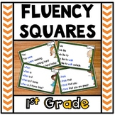 Reading Fluency Squares First Grade
