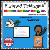 Reading Fluency Activity - Fluency Triangles ® Martin Luther King, Jr. Edition