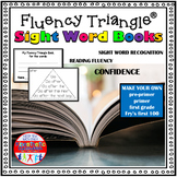 Reading Fluency Activity - Fluency Triangles®: Printable Sight Word Books