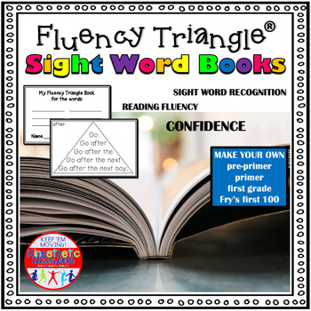 Reading Fluency Activity - Fluency Triangles®: Printable Sight Word Books