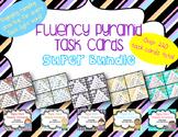 Fluency Pyramid Task Cards **Super Bundle** {5 sets, total
