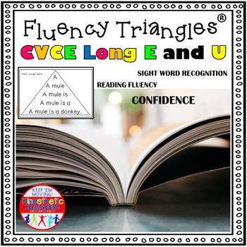 Reading Fluency Activity - Fluency Triangles® for Long E &