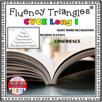 Reading Fluency Activity - Fluency Triangles® for Long I C