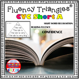 Reading Fluency Activity - Fluency Triangles® for Short A CVC Words {RTI}