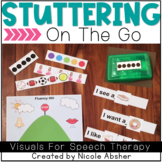 Speech Fluency (Stuttering) Visuals | Speech Therapy