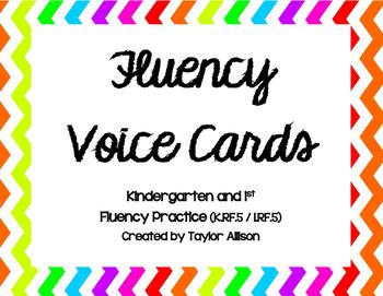 Fluency Voice Cards