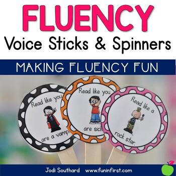 Fluency Voice Sticks & Spinners